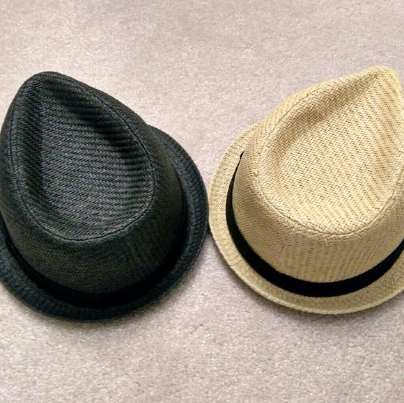 d76d49d9a two men's summer Fedora hat - S/M